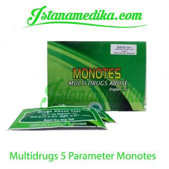Multidrugs 5 Parameter Monotes