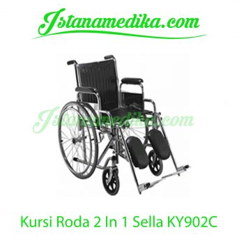 Kursi Roda 2 In 1 Sella KY902C