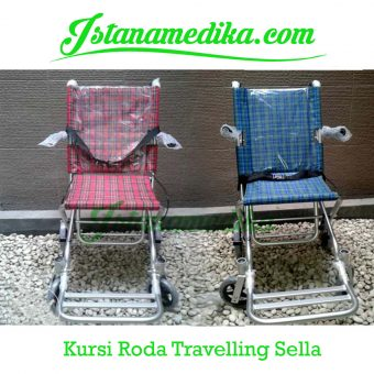 Kursi Roda Traveling Sella