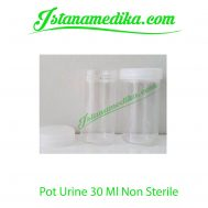 Pot Urine 30 Ml Non Sterile