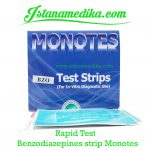 Rapid Test Benzodiazepines strip Monotes