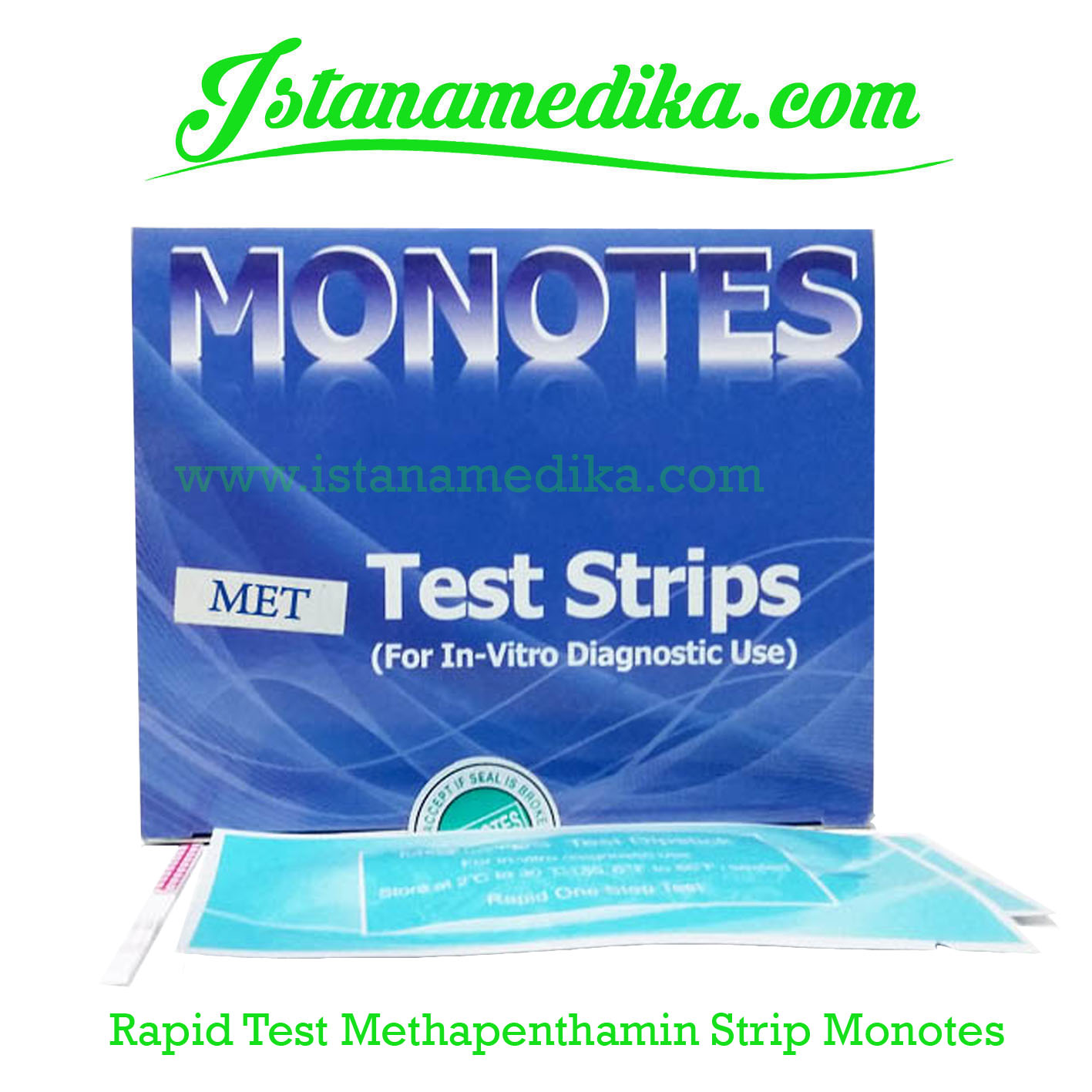 Rapid Test Methapenthamin Strip Monotes