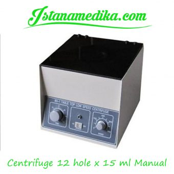 Centrifuge 12 hole x 15 ml Manual