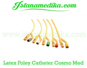 Latex Foley Catheter Cosmo Med