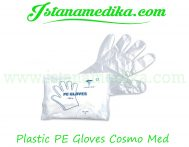 Plastic PE Gloves Cosmo Med