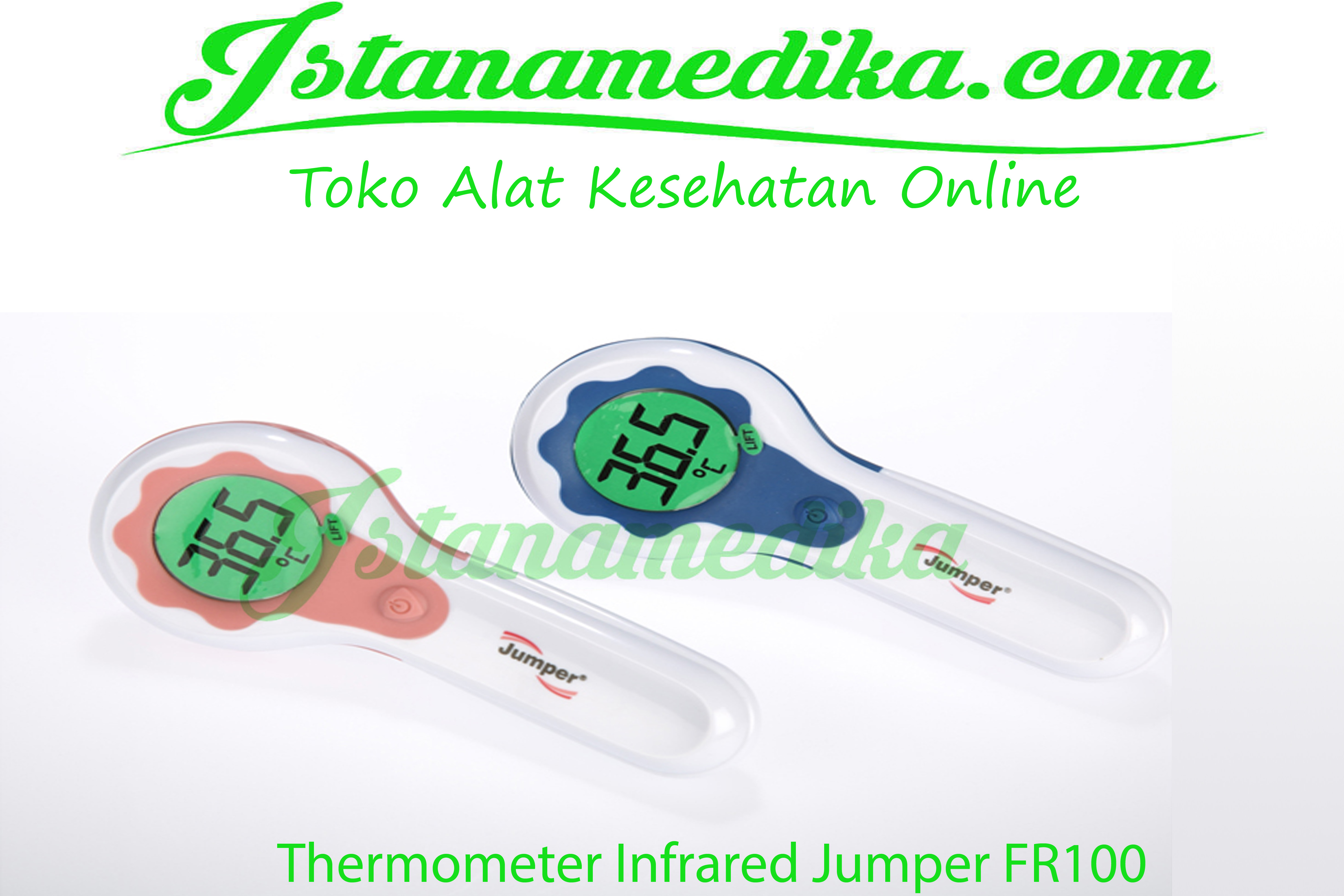 Thermometer Infrared Jumper FR100, toko thermometer suhu tubuh ciputat